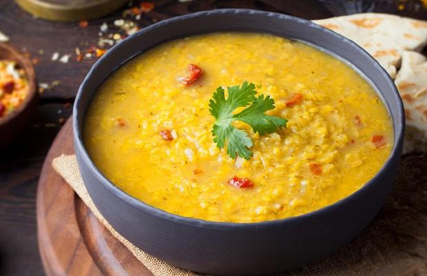 Крем-суп чечевичный Стейк Хаус