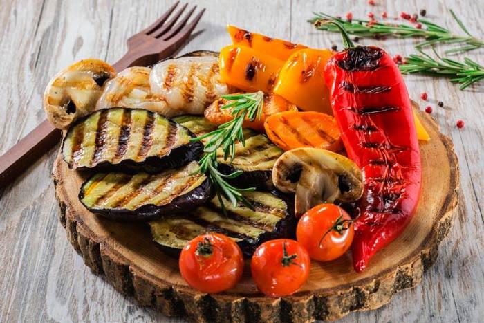 Овощи гриль Стейк Хаус