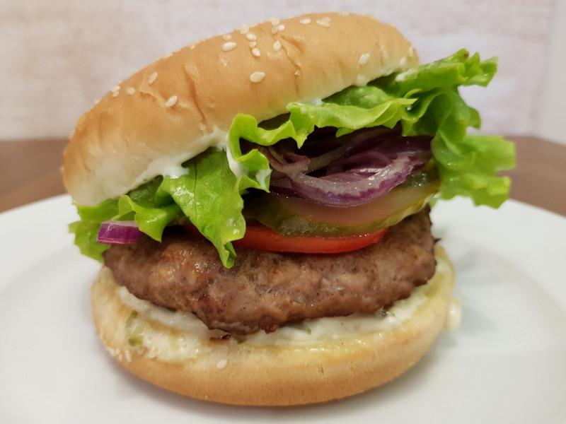 Гамбургер Lunch Cafe (Ланч Кафе)