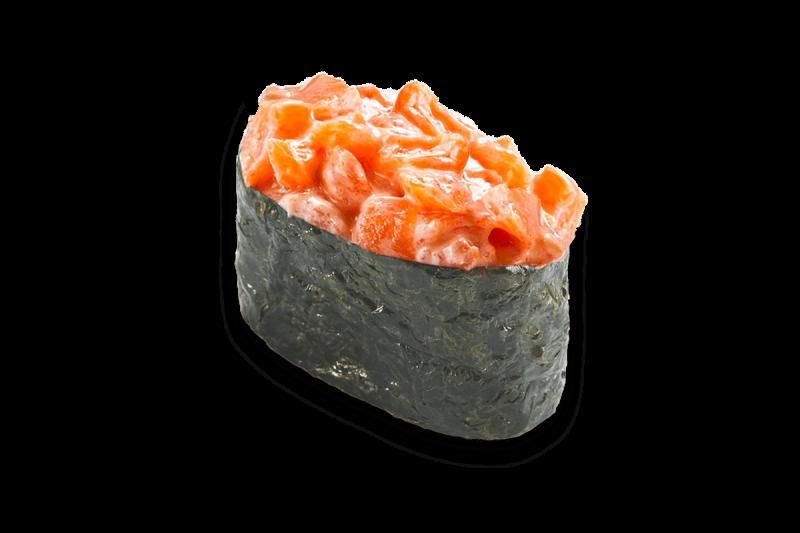 Гункан спайси лосось Karakatizza