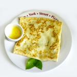 Блинчик с лососем и шпинатом New York Street Pizza
