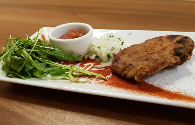 Стейк из свинины Lunch Cafe (Ланч Кафе)