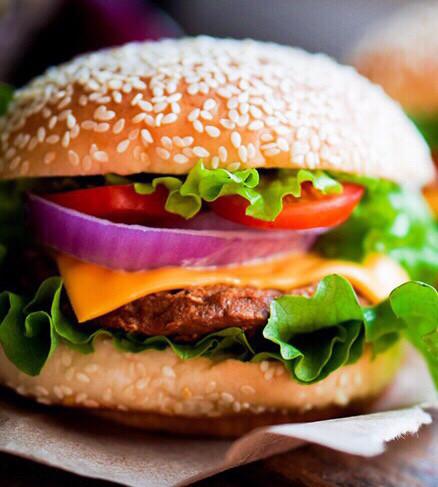 Бургер с курицей Стейк Хаус