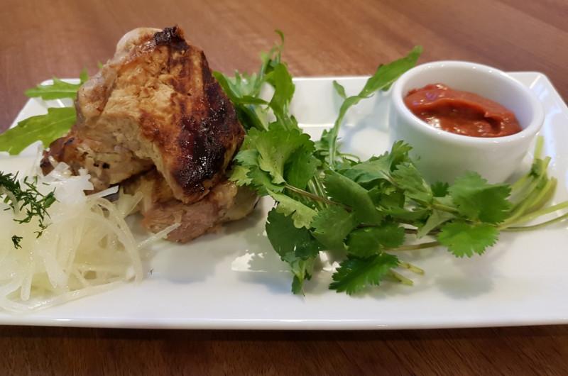 Свиной ошеек Lunch Cafe (Ланч Кафе)