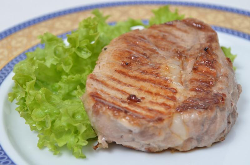 Стейк из свинины барбекю Кумир