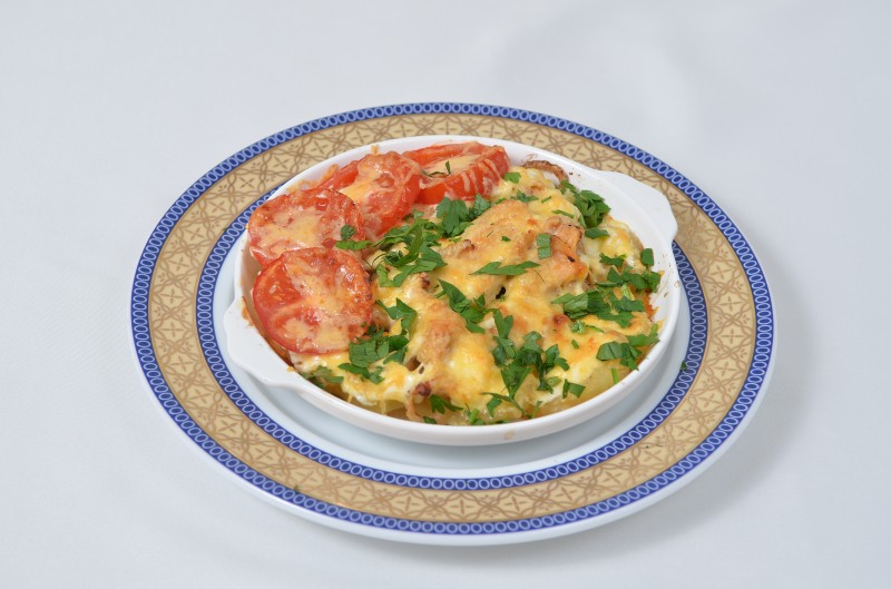 Филе куриное запеченное с картошкой Кумир
